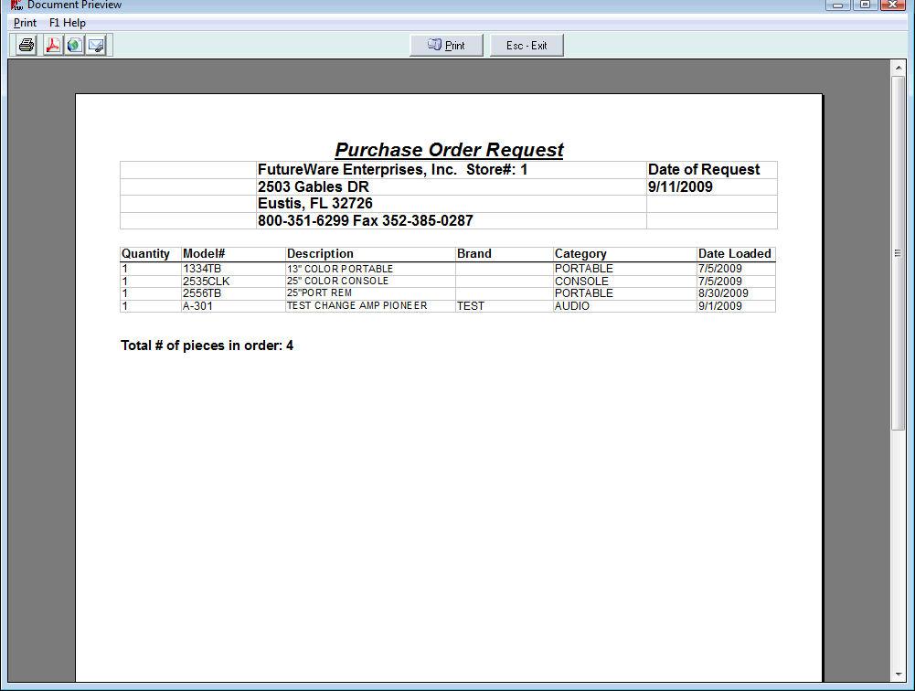 html form order